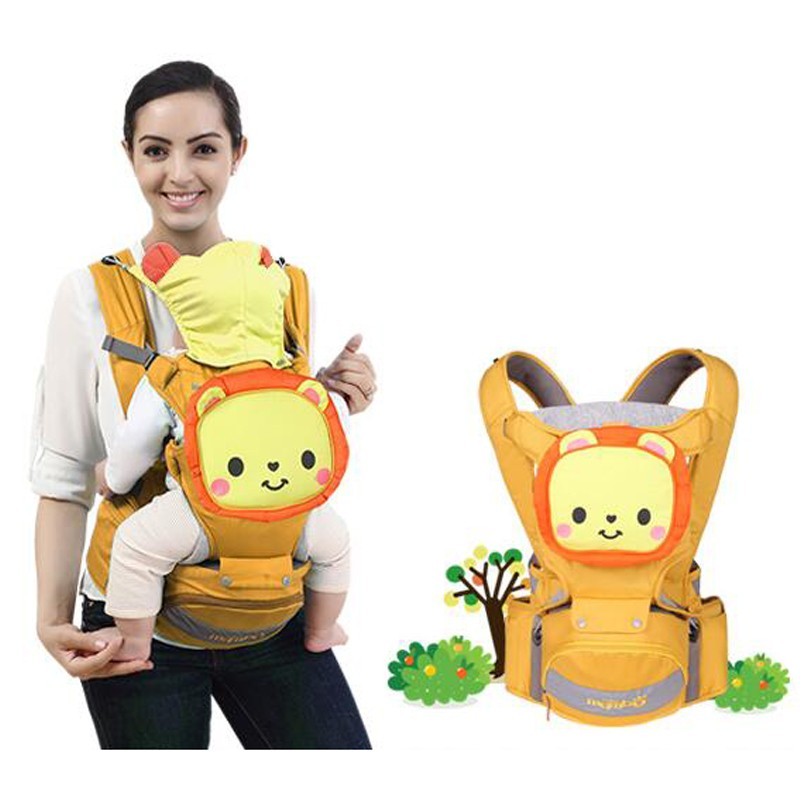 цена на Soft Ergonomic Baby Carriers Backpacks Infant Sling Breathable Front Facing Baby Carrier Infant Backpack Pouch Wrap Kangaroo