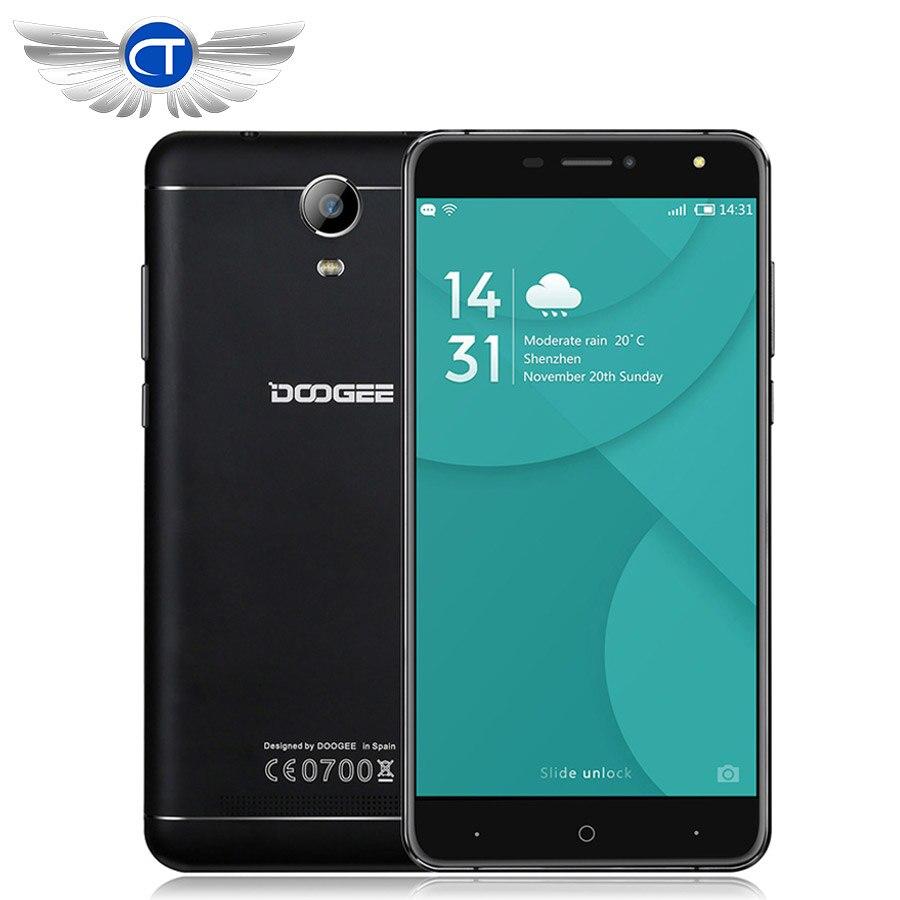 Doogee X7 Pro Mobile Phone 6.0 Inch Android 6.0 MTK6737 Quad Core 2GB 16GB 1280×720 13MP 3700mAh OTG Fingerprint 4G Smartphone