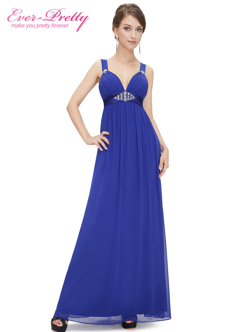 Clearance Sale Evening Dresses He08083 Ever Pretty Champagne Deep V