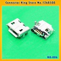 CK  100PCS New USB Jack for ASUS Memo Pad HD 7 ME173X Micro USB DC Charging Socket Port Connector,MC-006