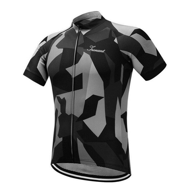 Acheter IRONANT Hommes Cyclisme Jersey 2018 Pro Équipe Manches Courtes Maillot Vélo Shirt Léger Respirant À Séchage Rapide Vélo Vélo Bisiklet de Maillots de cyclisme fiable fournisseurs
