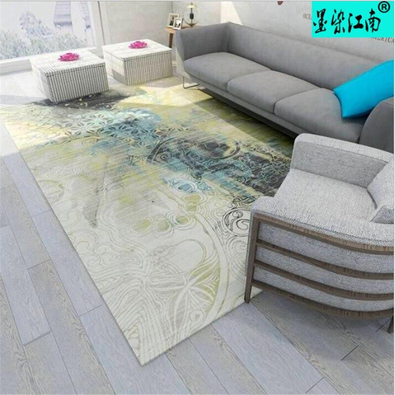 AOVOLL 2019 mode européenne tapis minimaliste dans le salon tapis et tapis pour la maison salon tapis chambre d'enfants - 2
