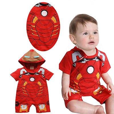 Baby Boy Child Party Clothes Costume Bodysuit One piece Jumpsuit