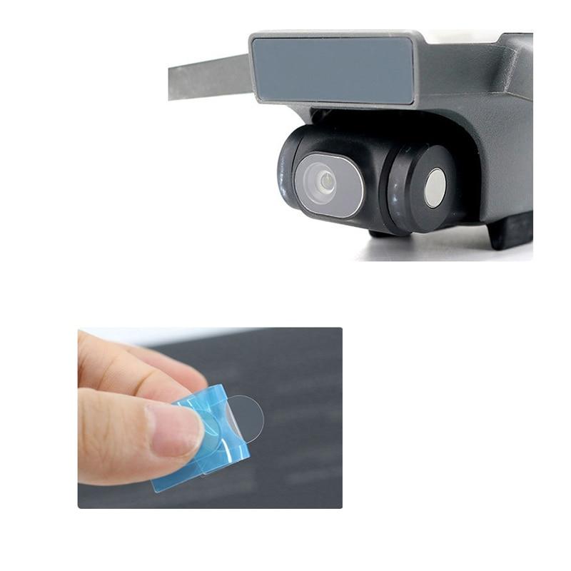 2pcs Lens Film + 2pcs Drone Body Screen Film Scratch-Proof Flexible Fiberglass Protective Film Set for DJI Spark Accessories