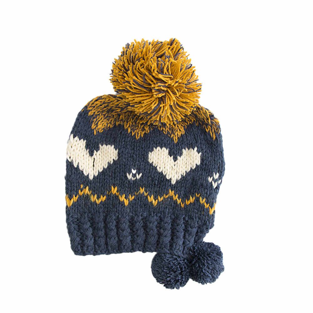 7c368098c34 ... New 201P Cable Knitted Bobble Hat Plain Men Women Beanie Warm Winter  Pom Wooly Cap Acrylic ...