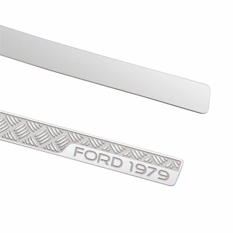 GRC TRX4 Ford боковая противоскользящая пластина T4 BRONCO Автомобильная оболочка металлическое украшение для 1/10 RC автомобиля TRX4