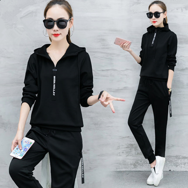 MyZyQg Trainning Running Set Sports Tracksuits Jumpsuit Clothes Sportswear Jogging Fitness Workout Set For Women Clothing ...