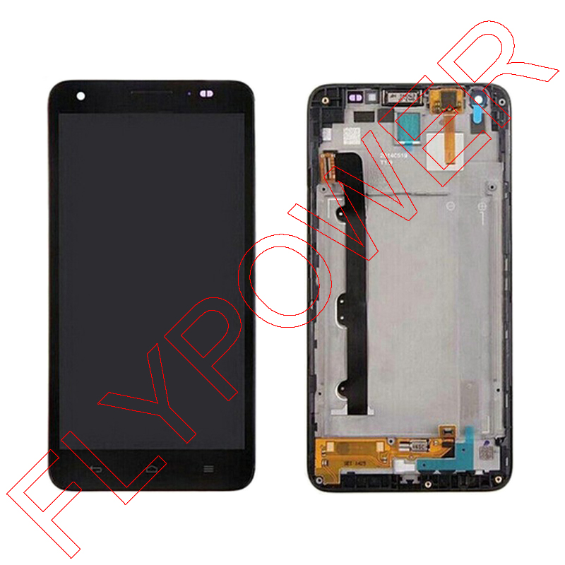 For Huawei Honor 3X Ascend G750 LCD Screen Display with Touch Screen Digitizer + Frame Assembly; Black; 100% warranty