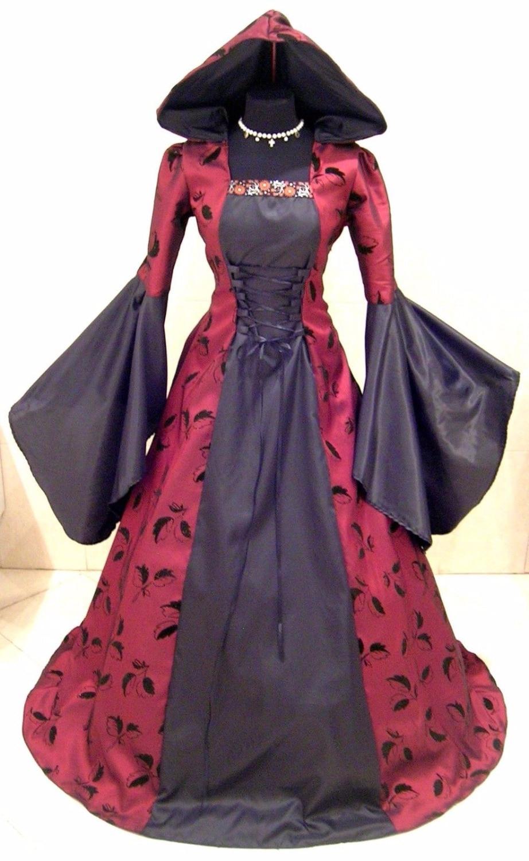 Contemporáneo Vestidos De Novia Gótico Rojo Y Negro Colección de ...