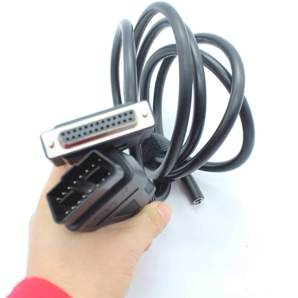 Diagnostic tool Truck interface OBDII 16 PIN cable OBD2 16PIN TO 25pin Connector main testing cable for Heavy Duty Scanner tools