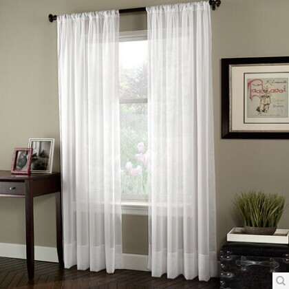 Online Get Cheap White Cotton Curtain Panels -Aliexpress.com ...