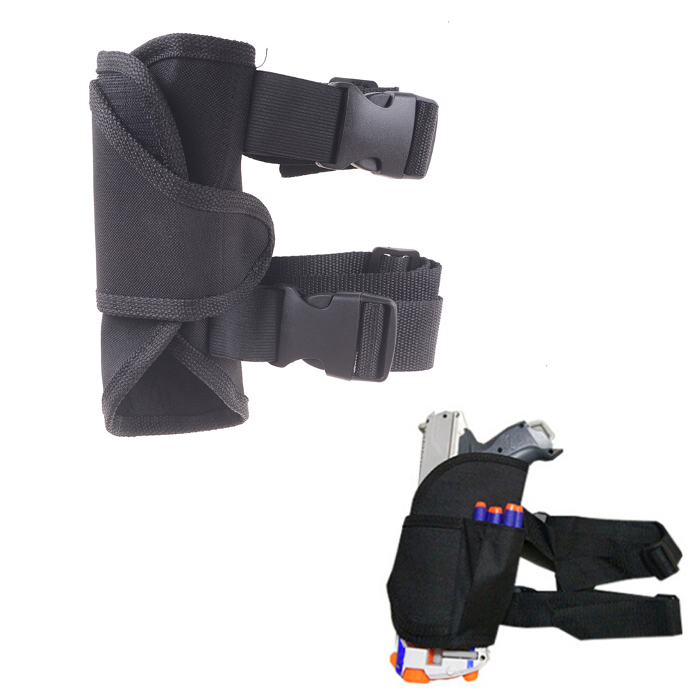 New Universal Waist Pouch Water Bullet Holster Cool Gun Blaster Kids Tactical Outdoor Game Toy