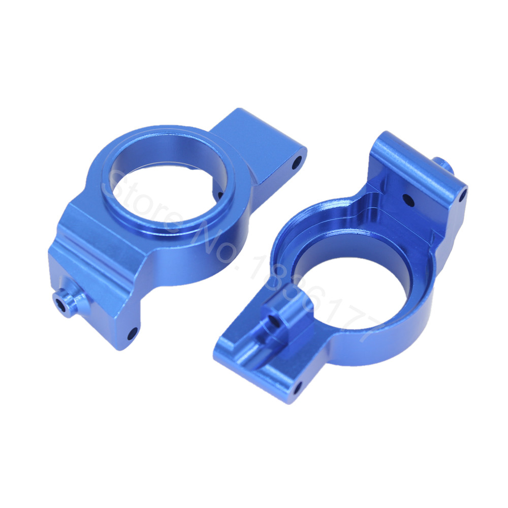 Aluminum Front Caster Blocks Base c-hubs Carrier left & right For Traxxas X-Maxx 4X4 Upgrade Parts 7732 Hop-up кукла llorens кукла лаура 45 см l 54501