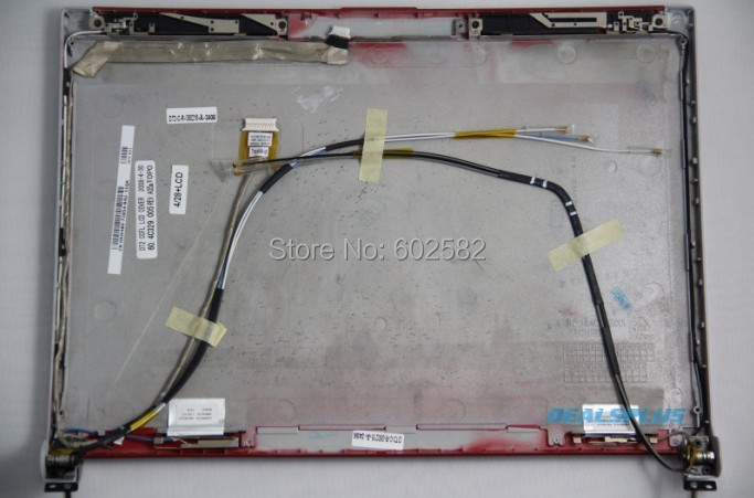 ФОТО NEW Genuine For Dell XPS M1330 CCFL LCD Top Lid Back Cover RED RW486,Free Shipping