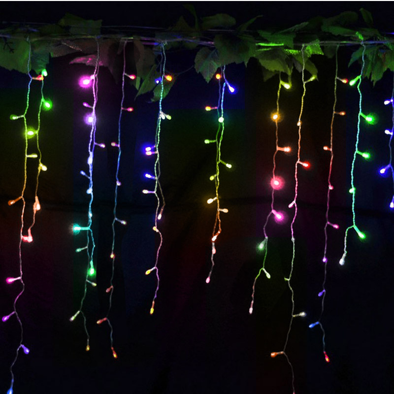 led string christmas lights outdoor 96 leds night light for holiday