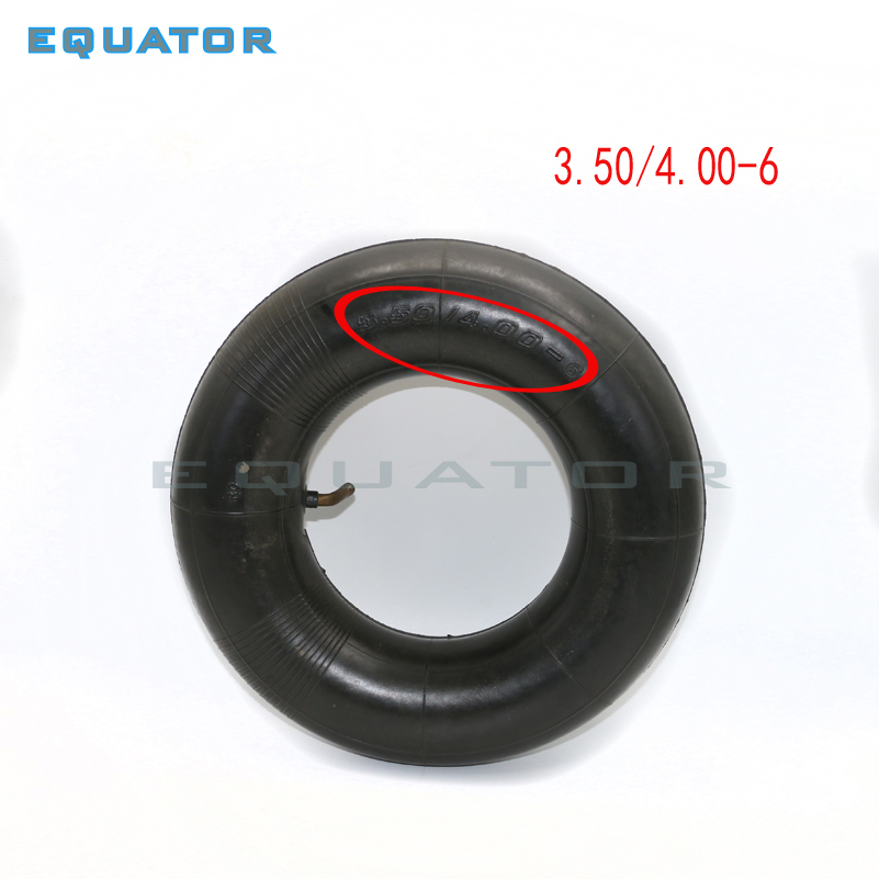 3.50/4.00-6 350/400-6 3.50x4.00-6 350x400-6 Inner Tube Innertube Tire Wheelbarrow Rubber Valve 6""