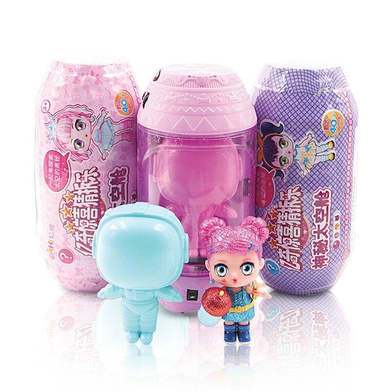 Original Eaki Surpresa Brinquedo do Miúdo Princesa Boneca Lol Lol Bonecas DIY Brinquedo Do Bebê Bola Brinquedos para Meninas Presente Crianças Presentes