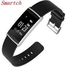 Smartch N108 Smart Браслет Heart Rate Мониторы Приборы для измерения артериального давления IP67 Водонепроницаемый умный Браслет Bluetooth часы PK Сяо Mi band