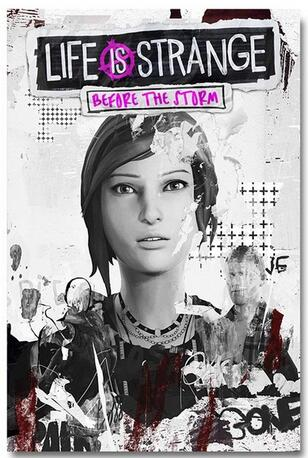 Life is Strange Before the Storm Game Art Wall Decor Silk Print Poster in Painting Calligraphy from Home Garden
