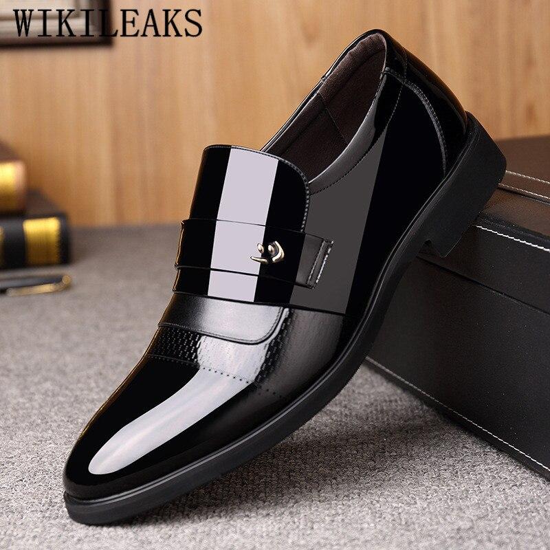 Klassischen Kleid Schuhe Männer Leder Formale Schuhe Männer Oxford Schuhe Für Männer Sapato Social Masculino Zapatos De Hombre De Vestir Formale Herrenschuhe
