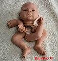 21'' Doll Kits Reborn Babies Silicone Lifelike Realistic Baby Dolls Kids Growth Partners Birth Reborn-dolls