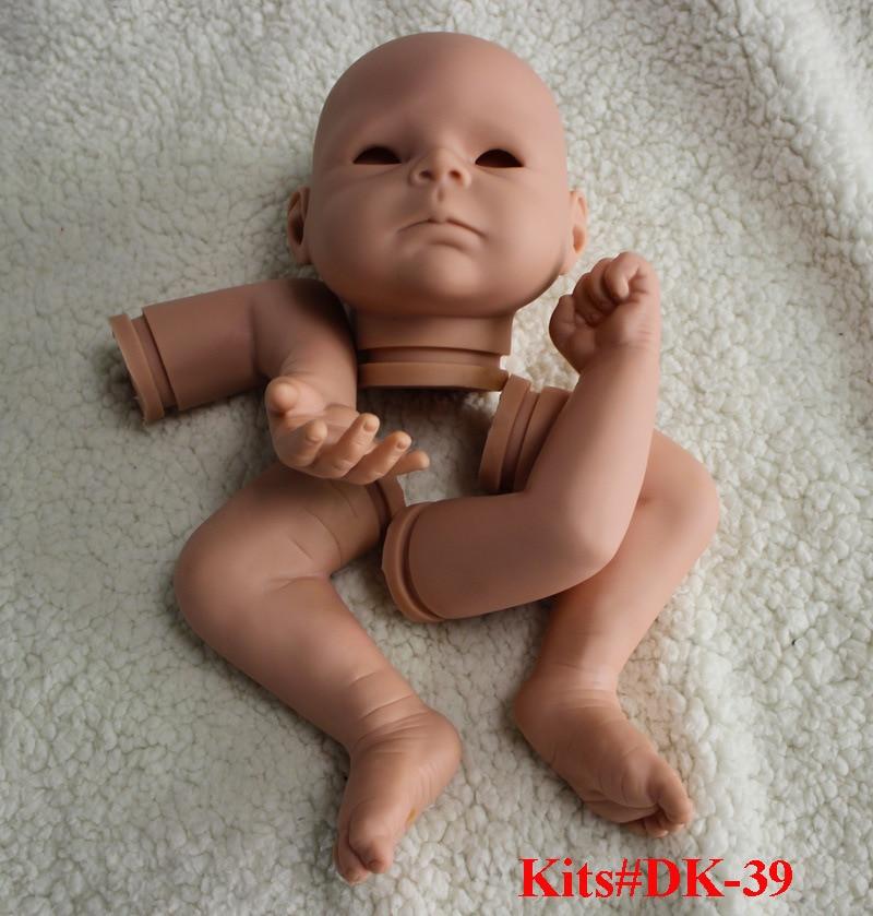 ФОТО SHINEHENG 21'' Doll Kits Reborn Babies Silicone Lifelike Realistic Baby Dolls Kids Growth Partners Birth Reborn-dolls