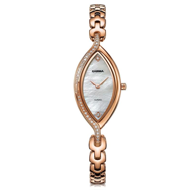 Fashion luxury brand Women s Bracelet Watches casual ladies quartz watch stainless steel waterproof relojes mujer