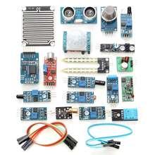 New Arrival 16 In 1 Sensor Module Board Kit Electronic Starter Learning Set For Arduino Module Board Sensor