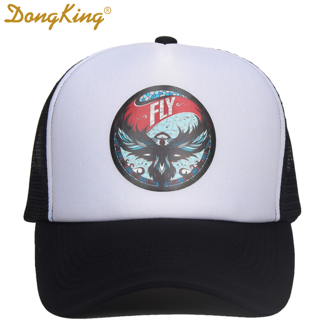 bf574eba46d DongKing New Trucker cap baseball caps man woman fashion snapback hat  summer spring Gorras Casquette hip-hop cap