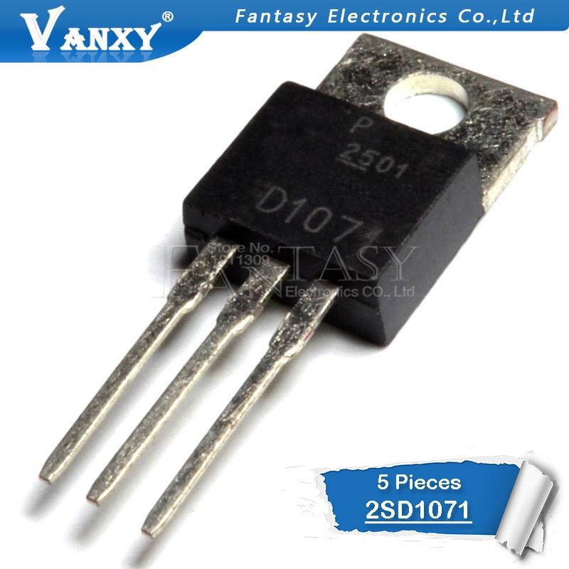 5pcs 2SD1071 TO-220 D1071 TO220 New Original