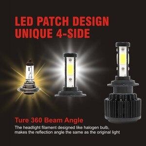 Image 2 - CarTnT Car Headlight Bulbs H7 LED H9 H4 HB3 5202 9005 HB4 9006 H13 H11 H8 9004 9007 LED Bulb Canbus 100W 16000LM 6000K 12V 24v
