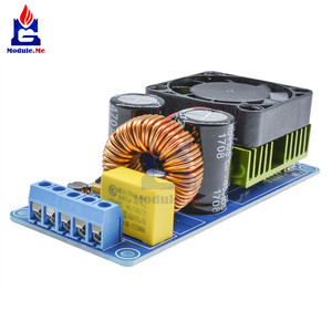 Image 2 - IRS2092S הכפול DC אספקת חשמל 500W מונו ערוץ דיגיטלי מגבר כיתת HIFI Power Amp לוח מודול הגנה קצרה