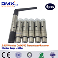 DHL Free Shipping wireless dmx512  transmitter receiver for LED par Lighting