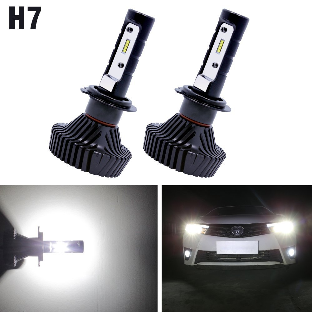 canbus hot car styling philips chips car headlight 6s led h4 h7 h11 9005 9007 160w 12000lm 6000k. Black Bedroom Furniture Sets. Home Design Ideas
