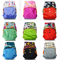 JinoBaby 3.0 Cloth Diapers Couche Lavable Diaper Training Pants Fit for NB to 17kgs (10 Diapers with 10 Inserts)