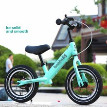 Mini Brake Scooter Balance Bike Safe Big Wheel Adjustable Height Two-Wheel Scooter For Children Age 2-6 ride on car children scooter 3 wheel folding flash swing car lifting 2 15 years old baby stroller ride bike vehicle children toys gifts