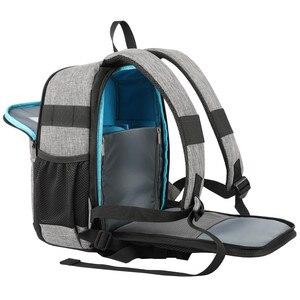 Image 3 - Bolsa de hombro para cámara réflex digital de fotos, impermeable, a prueba de golpes, antirrobo, bolsas de trípode de viaje, funda para Canon, Nikon, Sony, SLR