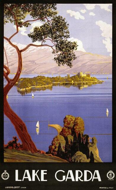 Lake Grada splendid Natuur Beauty Land Landschap Vintage