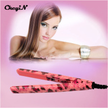 Portable Mini Hair Straightener Magic Electric Hair Straightener Ceramic Mini Flat Iron Hair Straightner Styling Tools -P00