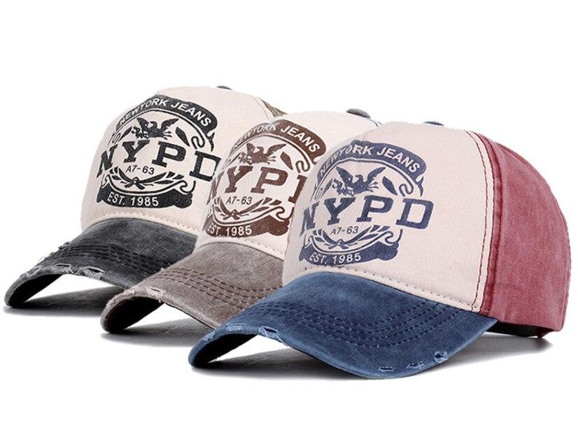 棒球帽子_做旧水洗牛仔棒球帽子男女街头字母nypd弯檐嘻哈鸭舌---阿里巴巴_08