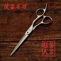 Профессиональный tesoura 5,5 / 6 440C inch sharp волос резка ножницы парикмахерские парикмахерская салон ножницы