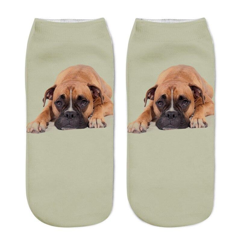 93b9fe287ada Fashion Cotton Men Woman s Socks Slippers 3D Cute Funny Cartoon Socks  kawaii Cat Pug Men Women Socks slipper High Quality-in Sock Slippers from  Underwear ...
