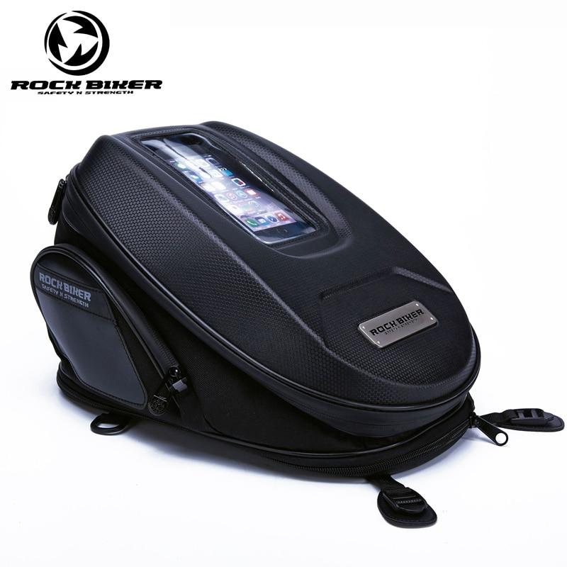 ROCKBIKER Motorbike Saddle Bag Oil Fuel Tank Bag Motorbike Motocross Rear Bag Rain Cover Travel Knight Rider Moto Bag кофры komine