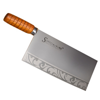 New 9 Inch Professional Kitchen Knife Advanced Chopping Stainless Steel Knife Revolution Series With Good Quality