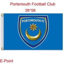 England Portsmouth FC decoration Flag A 3ft*5ft (150cm*90cm)