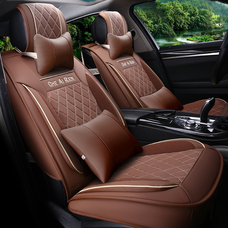 Car Styling Leather Seat Covers For Acura Sedan Seat