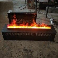 Большой размер светодиодный светильник 3D водяной пар/Паровой Электрический камин