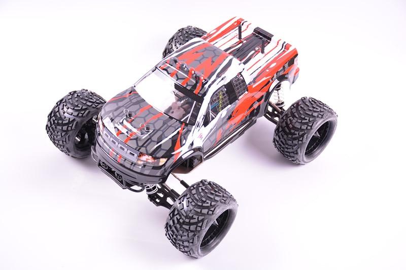 1:10 Monster Truck GO 18 Метанол энгин 2.4 Г Пульт Дистанционного управления