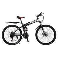 Альтруизм X9 горный велосипед Сталь Bicicleta 26 дюймовый 21 Скорость велосипеды двойной дисковые тормоза с переменной MTB Скорость велосипеды racin