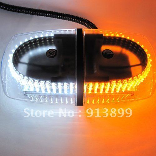 Mini Lightbar 240 LED ( Amber/White/Amber/White ) Warning Light